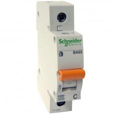 Автоматический выключатель ВА63 Домовой 1 полюс 63 ампера
