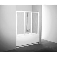 Дверь для ванн Ravak AVDP3-120 белый прозрачное (40VG0102Z1)