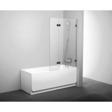 Штора для ванн Ravak BVS2 правая хром прозрачное (7UPA0A00Z1+D01000A071)