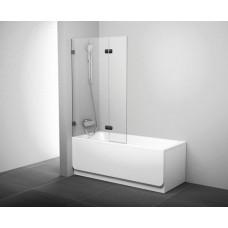 Штора для ванн Ravak BVS2 левая хром прозрачное (7ULA0A00Z1+D01000A072)