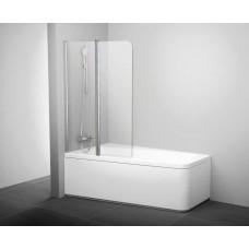 Штора для ванн Ravak CVS2 левая белый прозрачное (7QLA0103Z1)