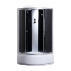 Гидробокс Sansa 90х90 сатин серое (9900A gray)