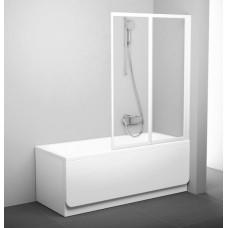 Штора для ванн Ravak VS2-105 белый transparent (796M0100Z1)