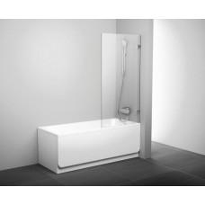 Штора для ванн Ravak BVS1 хром прозрачное (7U840A00Z1+D01000A070)