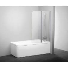 Штора для ванн Ravak CVS2 правая белый прозрачное (7QRA0103Z1)
