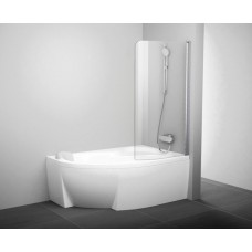 Штора для ванн Ravak CVSK1-85 правая белый прозрачное (7QRM0100Y1)