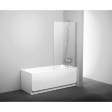 Штора для ванн Ravak PVS1 белый прозрачное (79840100Z1)