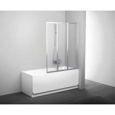 Штора для ванн Ravak VS3-100 белый rain (795P010041)