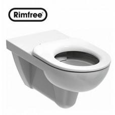 Унитаз подвесной Kolo Nova Pro Rimfree овальный для лиц с ограниченными возможностями (33520)